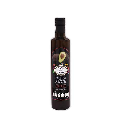 Aceite Comestible de Aguacate Picante 500ml