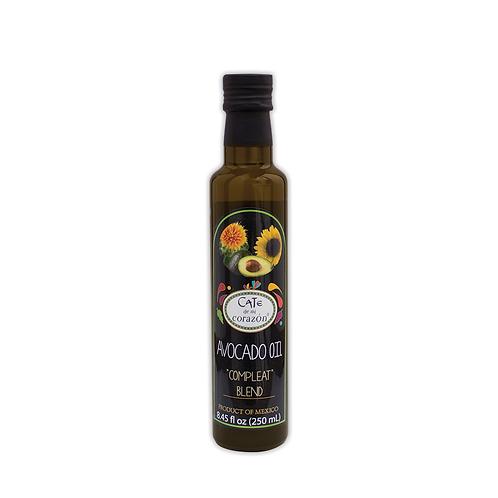 "Aceite Comestible de Aguacate ""Complete Blend"" 250ml"