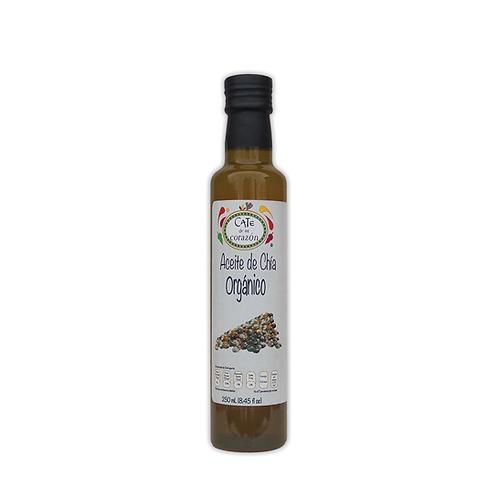 Aceite Comestible Orgánico de Chía 250ml