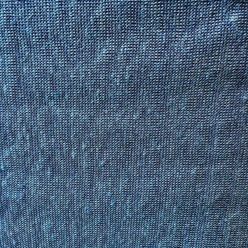 Capri Linen - indigo (Half Metre)