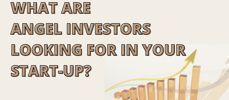 What are angel Investors looking for in your start-up?