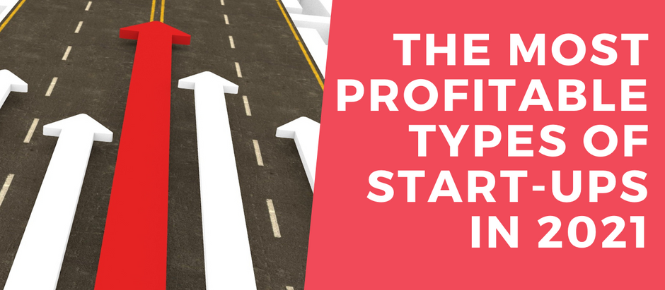 The Most Profitable Types of Start-Ups in 2021