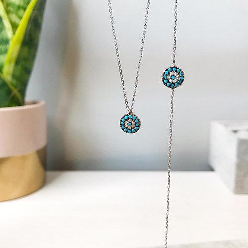 Mini Pendant Necklace & Bracelet Set