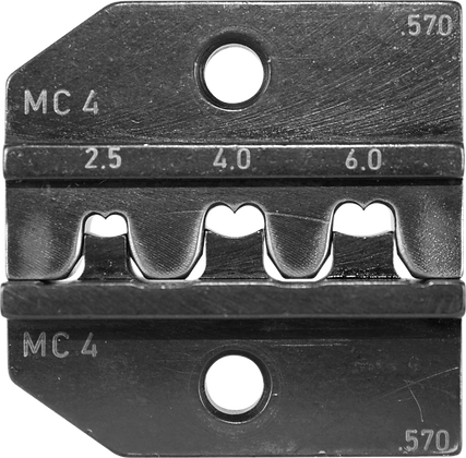 Crimp Die Set for MC4 (14,12,10 AWG) Solar Contacts
