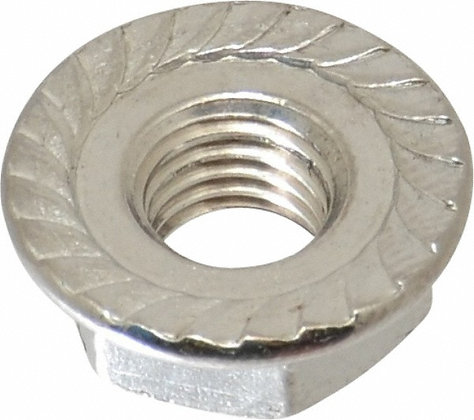 Stainless Steel Serrated Flange Nuts