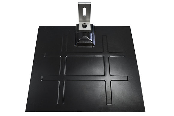 L Foot Flashing Kit (Silver L Foot, Black Galv Flashing)