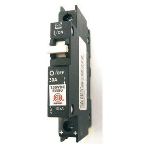 150 VDC DIN Rail Mount Circuit Breaker