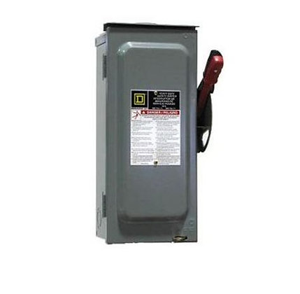 30A 600V Square D-Disconnect