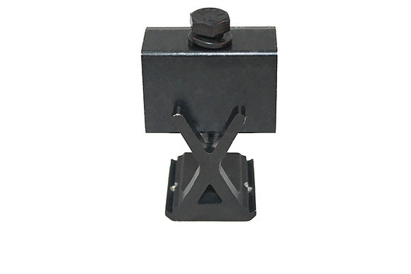 "Bonding Adjustable End Clamp, 1.20""- 1.48"", Black"