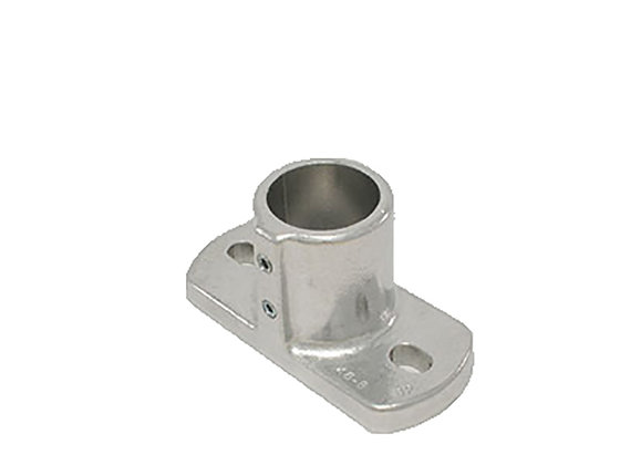 "Rectangular Base Flange, Hollaender (46-8) 1 1/2"", AL-MG"