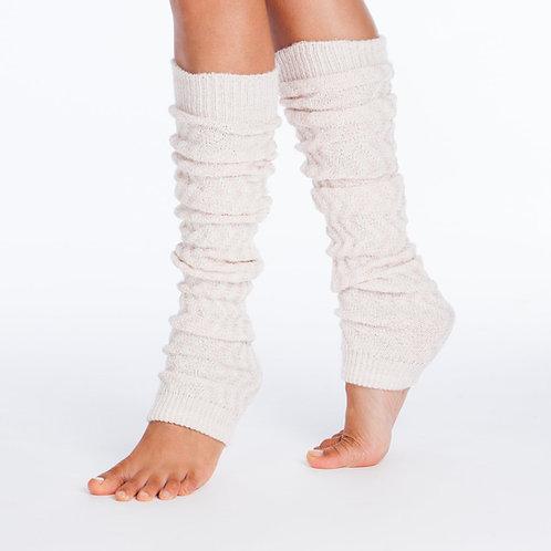 Tucketts - Ivory Zinc Leg Warmers