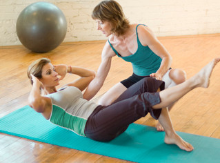 Using Gym Equipment for Pilates Based Movement