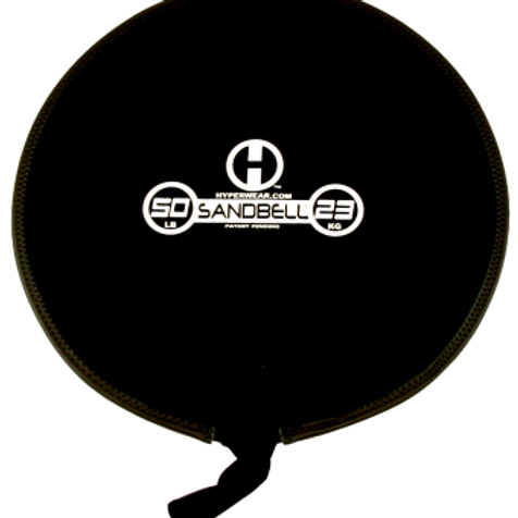 23kg Sandbell (black) Unfilled