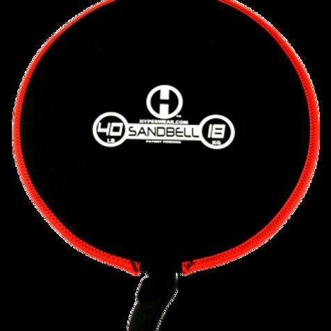 18kg Sandbell (red) Unfilled