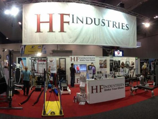 Visit HF Industries at The Australian Fitness & Health Expo! Stand R26