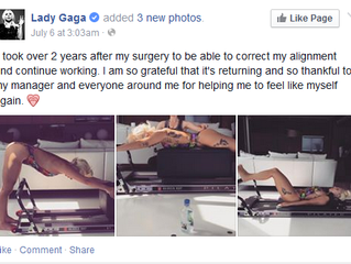 Lady Gaga Uses Our Allegro Reformer!