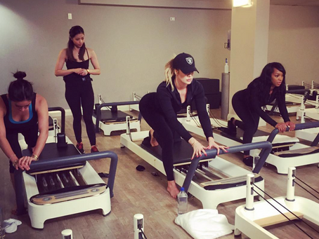 Khloe Kardashian Working Out on Our Allegro 2 While Down Under!