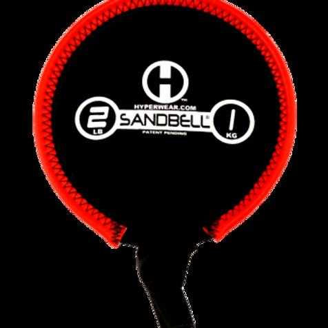 1kg Sandbell (red) Unfilled