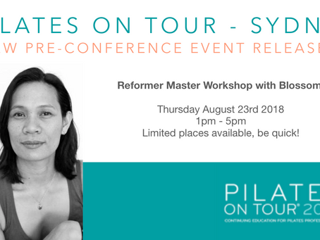 New Reformer Workshop - Pilates On Tour Sydney