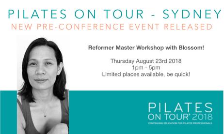 New Reformer Workshop - Pilates On Tour Sydney
