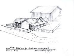 Sketch of Pre-K & K Facility