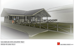 3D Sketch of Pre-K & K Facility