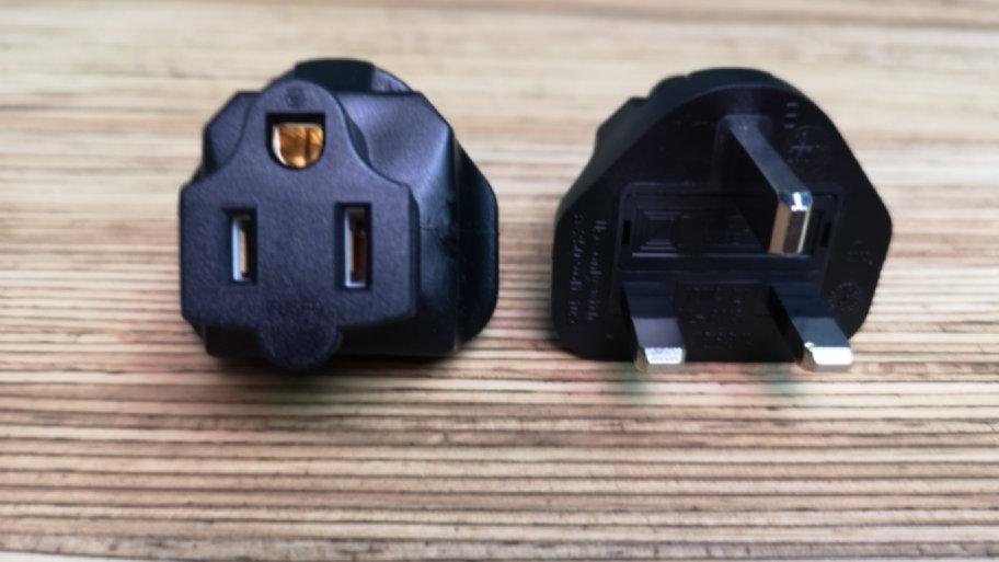 US to UK Power adaptor (straight)