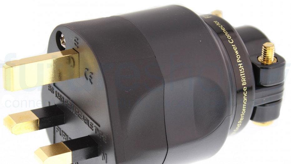 Furutech Gold plated UK Power Connector (FI-UK-1363G)