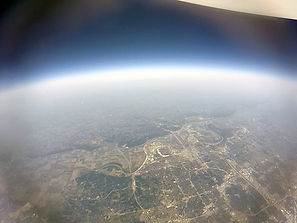 High Altitude Balloon view of Nebraska.