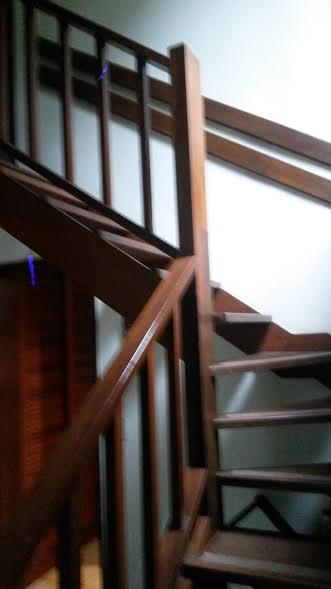 detalhe da escada