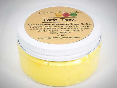 Whipped Shea Butter- Earth Tones