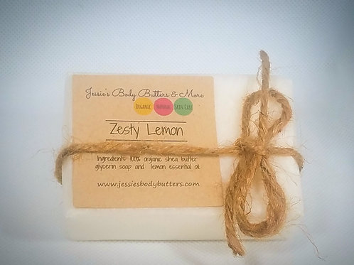 Soap Bar- Zesty Lemon