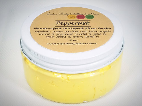 Whipped Shea Butter- Peppermint