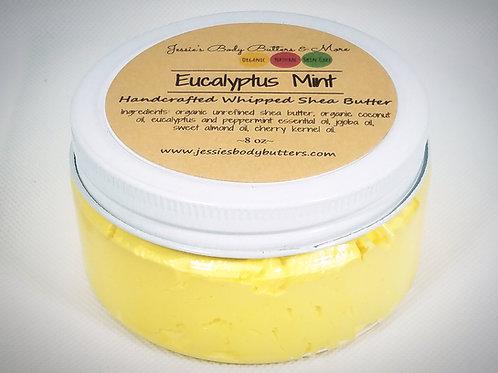 Whipped Shea Butter- Eucalyptus Mint
