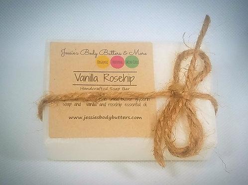 Soap Bar- Vanilla Rose