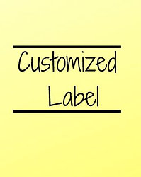Customized Label