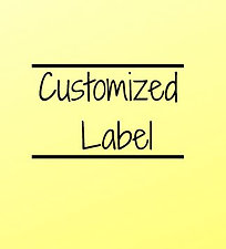 Customized Label