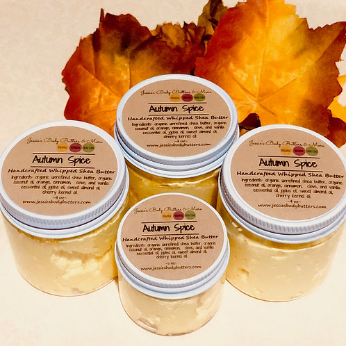 Whipped Shea Butter- Autumn Spice