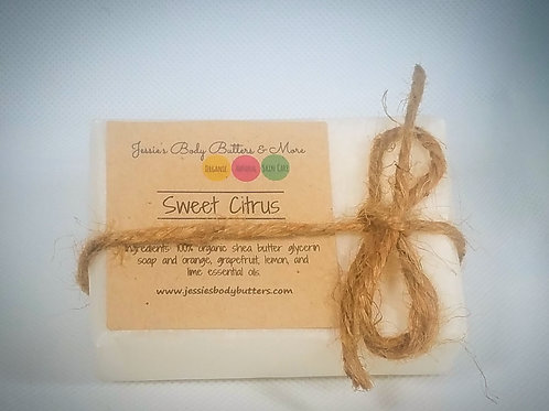 Soap Bar- Sweet Citrus