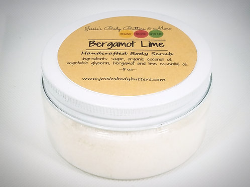 Body Scrub-Bergamot Lime