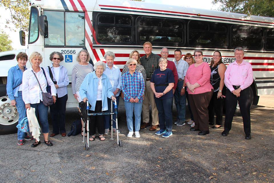 Senior Bus Trip to Clayton Library