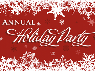 Holiday Party, plan to attend NOW!