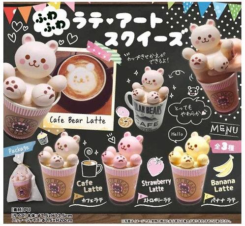 *COMING SOON Cafe Bear Latte 「Latte Art」squishy