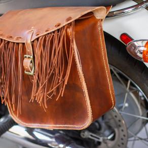 How to make fringe saddle bags