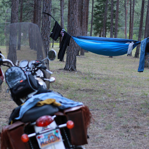 How I packed my Triumph for 2,600 miles