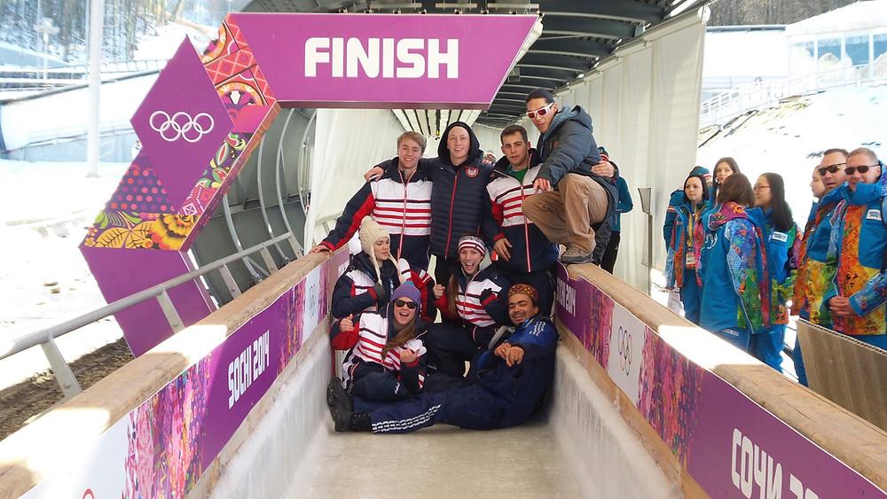 Luge team usa Sochi olympics