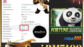 Mega888 Panda Slot Games cuci 7400