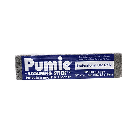 Pumie Scouring Stick Porcelain & Tile Cleaner