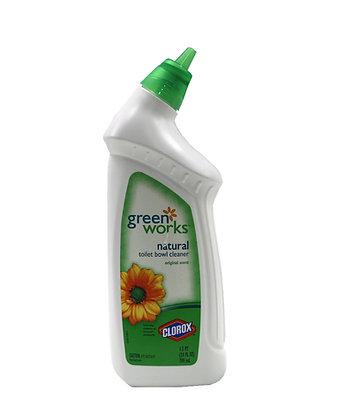 Clorox: Green Works - Natural Toilet Bowl Cleaner (Original Scent)