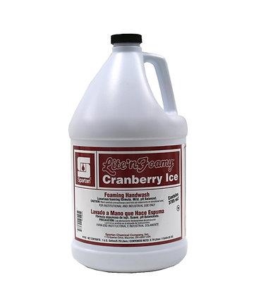 Spartan Lite n' Foamy Cranberry Ice Foaming Handwash